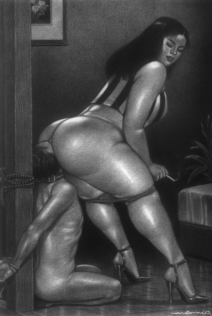 Строгая госпожа и раб порно 10 фотография