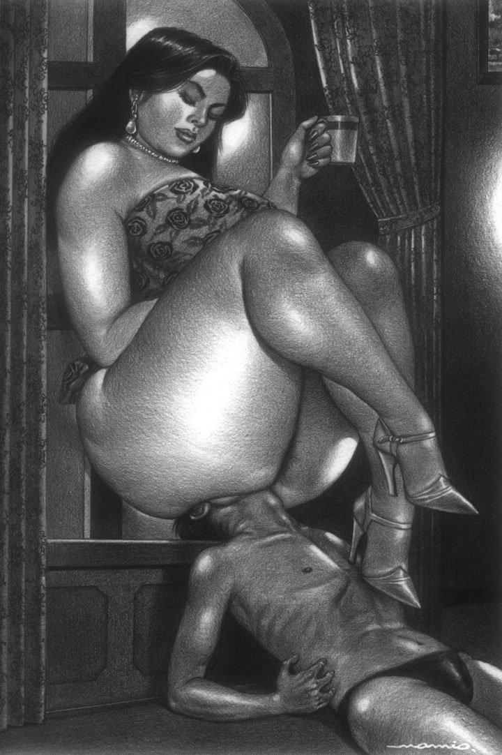 Ebony Big Ass Lesbian Strapon